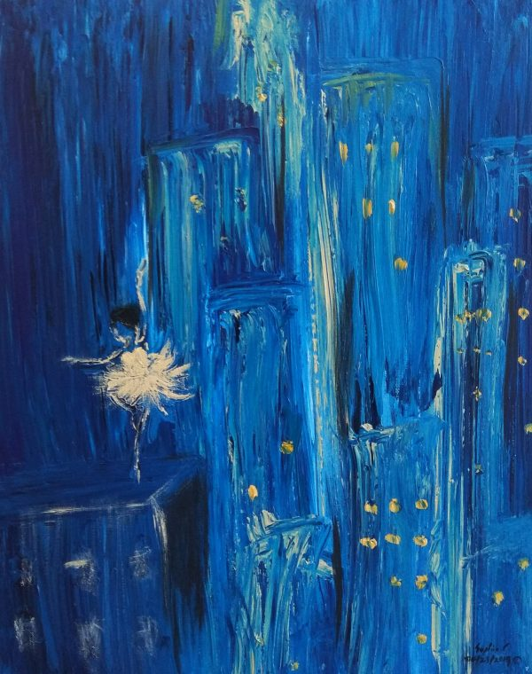 Silent dancer - Painting