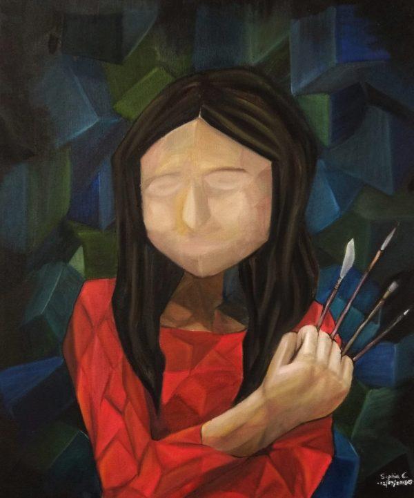 027 - Self Portrait - Painting