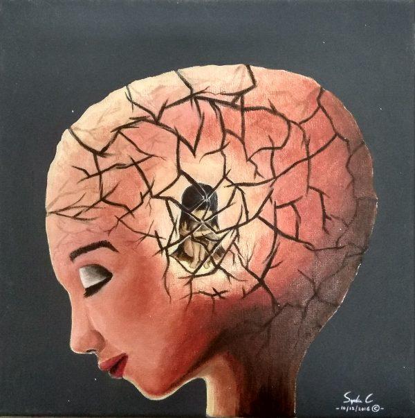 041- Deep Inside - Painting