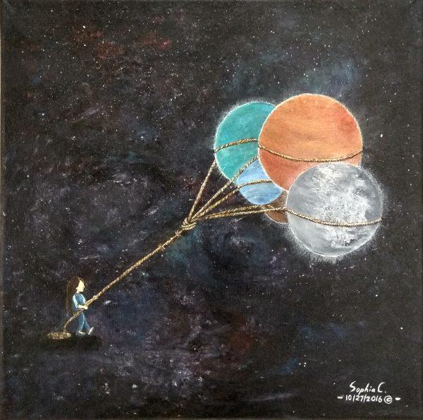 044 - Human's desire - Painting